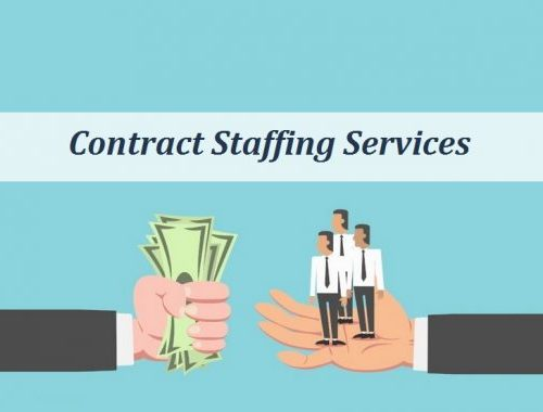How does contractual staffing in India works?