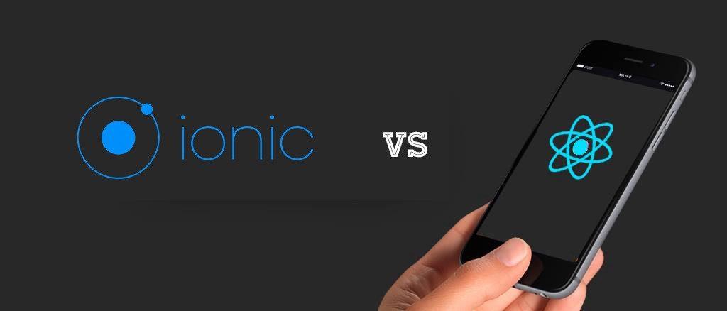 Ionic vs React