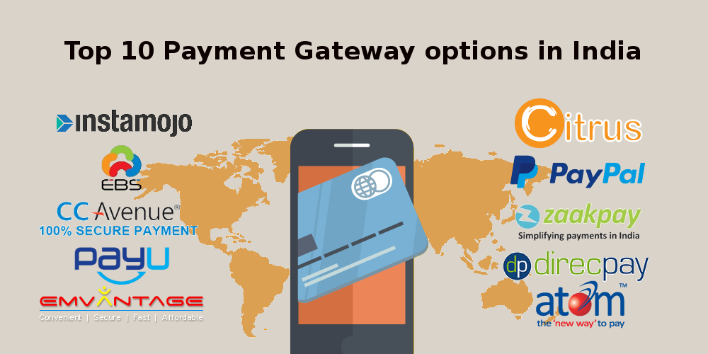 TOP 10 PAYMENT GATEWAY OPTIONS IN INDIA FOR CUSTOM ECOMMERCE SERVICE PROVIDER