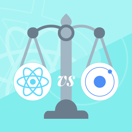 Differences between Ionic, Angular and React – Ionic vs Angular vs React
